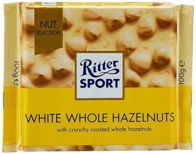 Ritter SPORT White Whole Hazelnut 100g x10