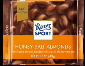 Ritter Sport Honey Salted Almond 100g x10