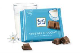 Ritter Alpine Milk 100g x12