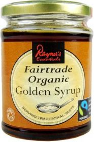 Rayners Fair Trade & Organic Golden Syrup 340g x6