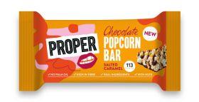 Propercorn Salted Caramel Popcorn Bars 12x26g