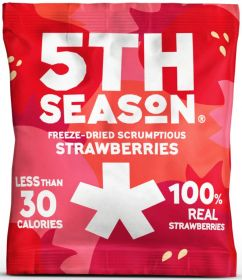 5th Season Freeze-Dried Strawberry Bites 12g x6