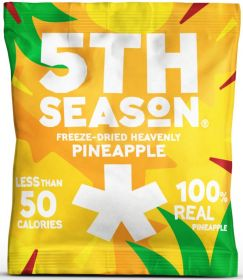 5th Season Freeze-Dried Pineapple Bites 12g x6