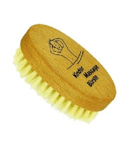 Forsters Body brush, without handle, natural bristles, beech wood