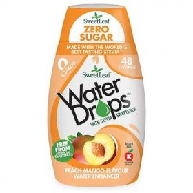 Sweetleaf Peach Mango Water Drops 48ml x12