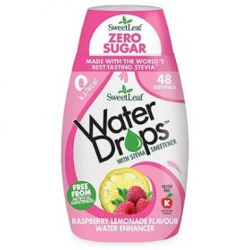 Sweetleaf Raspberry Lemonade Water Drops 48ml x12