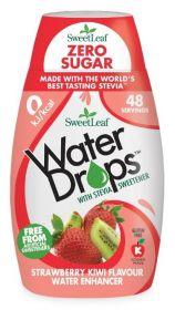 Sweetleaf Strawberry Kiwi Water Drops 48ml x12