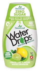 Sweetleaf Lemon Lime Water Drops 48ml x12