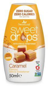 SweetLeaf Caramel Sweet Drops 50ml x12