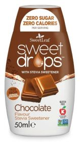 SweetLeaf Chocolate Sweet Drops 50ml x12