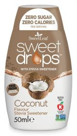 SweetLeaf Coconut Sweet Drops 50ml x12