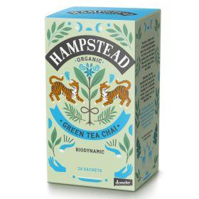 Hampstead Organic Green Chai Tea (individually wrapped) 40g x4