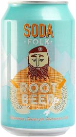 Soda Folk Root Beer 24x330ml