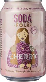 Soda Folk Cherry 24x330ml