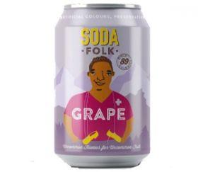 Soda Folk Grape 24x330ml