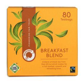 Traidcraft Breakfast Blend Teabags 250g x6