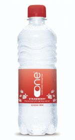 One Water Still Strawberry 500ml x24