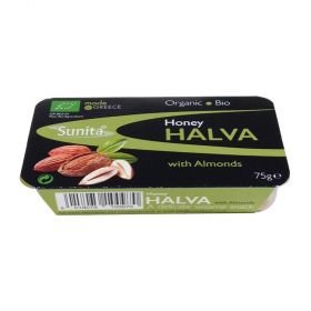 Sunita Halva Organic Honey Halva with Almonds