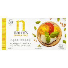Nairn's wholegrain  Seeded Crackers 8x137g