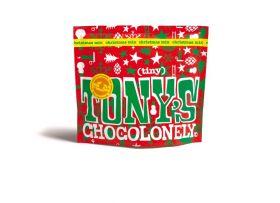 Tony's Chocolonely Fairtrade Tiny Tony's Christmas Pouch 180g x15