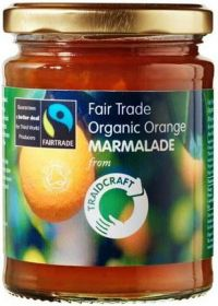 Traidcraft Fair Trade & Organic Orange Marmalade 340g x6