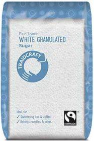 Traidcraft Fair Trade White Granulated Sugar 500g x6