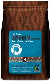 Traidcraft Fair Trade Guatemalan Cuchumatán Roast & Ground Coffee - *Strength 4 Dark 227g x6