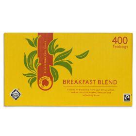 Traidcraft Fairtrade Breakfast Blend 400 Teabags x1