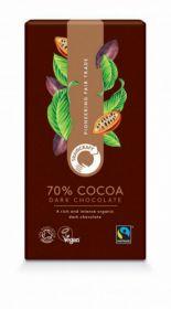 Traidcraft Fairtrade Organic Dark Chocolate 100g x10