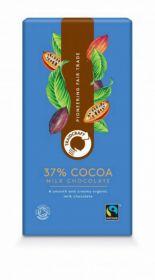 Traidcraft Fairtarde Organic Milk Chocolate 100g x10