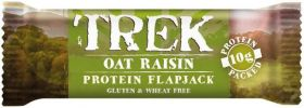 CLEARANCE - Trek Oat Raisin Protein Flapjack 50g x16 (BBE: 21/11/18)