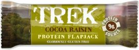 Trek Cocoa Raisin Protein Flapjack 50g x16