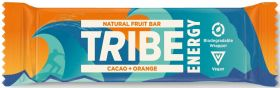 TRIBE Energy Cacao Orange Vegan Energy Bar (42gx16)