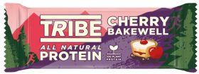 TRIBE Cherry Bakewell Vegan Protein Bar (46gx16)