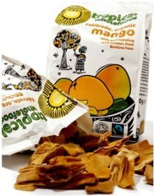 Tropical Fair Trade & Organic Dried Mango 100g x14
