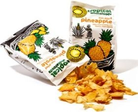 Tropical Fair Trade & Organic Sun Dried Pineapple 100g x14