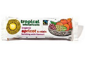 Tropical wholefoods Fair trade & Organic Apricot & Raisin 40g x24