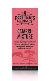 Potter's Herbals Catarrh Mixture 150ml x6