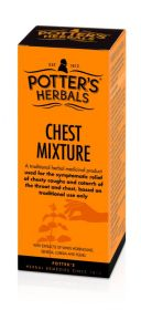 Potter's Herbals Chest Mixture 150ml x6
