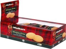 Walker's Gluten Free Shortbread 30g x24