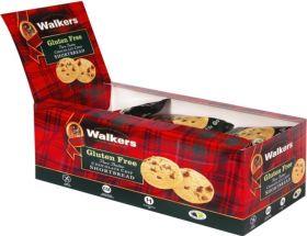 Walker's Choc Chip Gluten Free Shortbread 30g x24