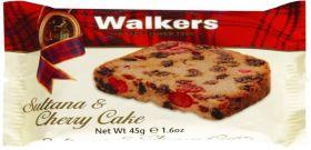 Walker's Sultana Cherry Cake 45g x60