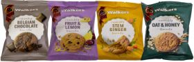 Walker's Assorted Biscuits 25g x100