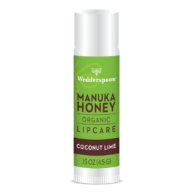Wedderspoon Organic Coconut and Lime Manuka Lip Balm 4.5g x20