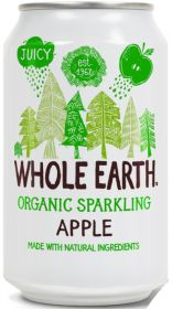 Whole Earth Organic Lightly Sparkling Apple Drink 330ml x24