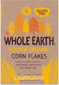 Whole Earth Organic Classic Golden Cornflakes 375g x12