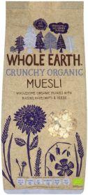 Whole Earth Organic Swiss Style Crunchy Muesli 750g x12