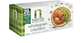 Nairn's Wholegrain Crackers 8x137g