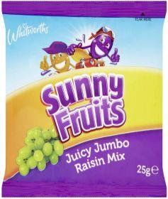 Whitworths Sunny Juicy Raisin Mix 60x25g