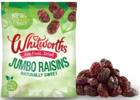 Whitworths Snack Pack Juicy Raisins 18x40g